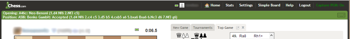 chesscomutils - UI Enhancements for Chess com Live Chess